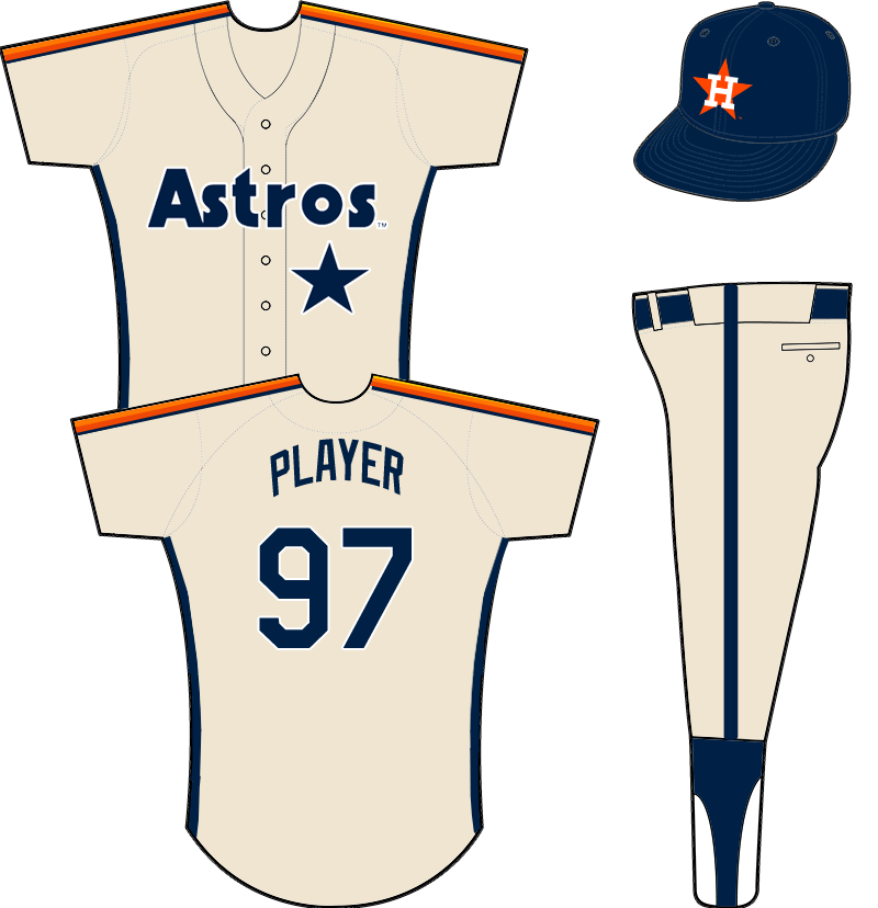 Houston Astros Uniform Road Uniform (1989-1993) -  SportsLogos.Net
