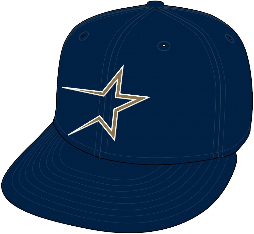 Houston Astros Cap Cap (1994-1999) - Home and Road Cap (1994-99). SportsLogos.Net