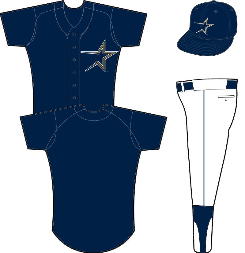 Houston Astros Uniform Alternate Uniform (1997-1999) -  SportsLogos.Net