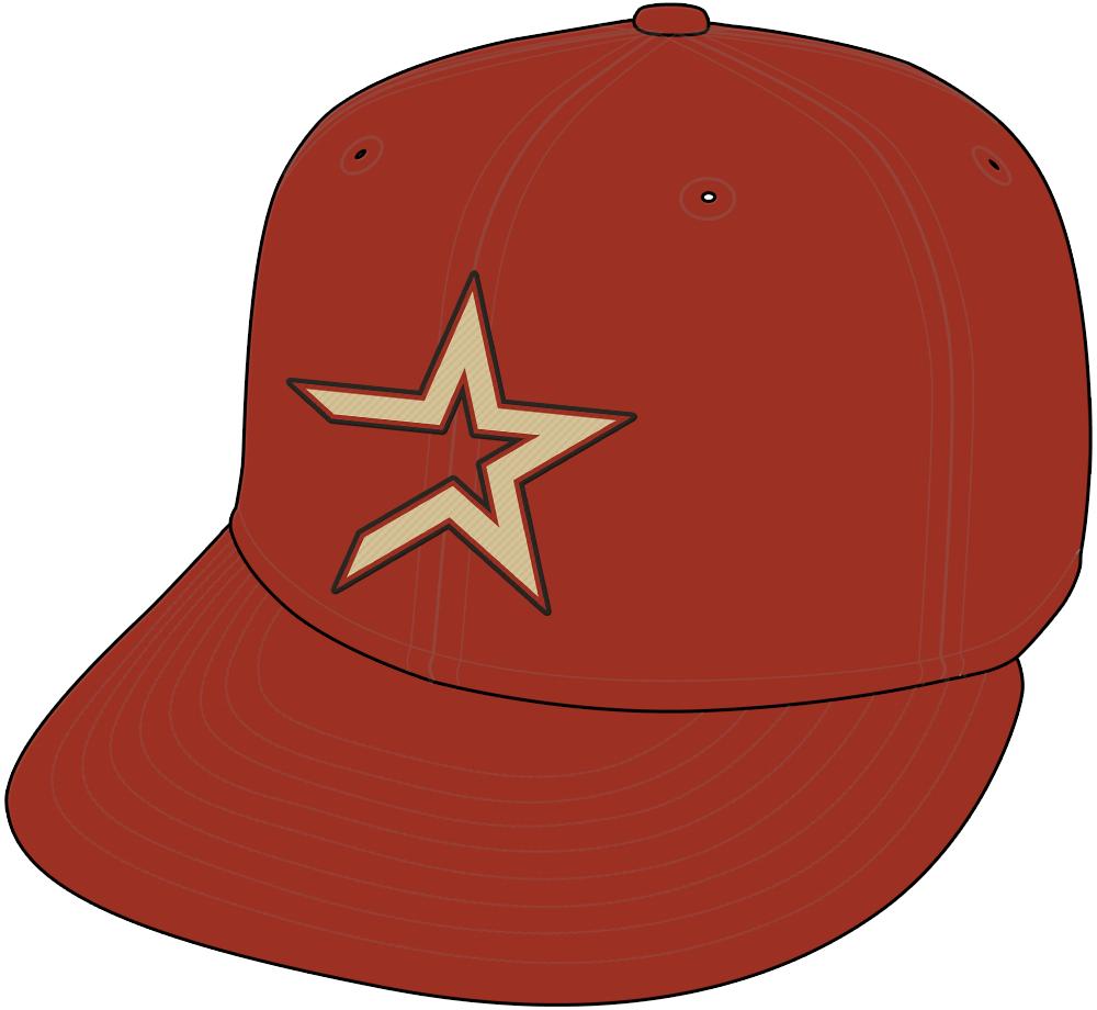 Houston Astros Cap Cap (2000-2012) - Alternate Cap (2000-12). SportsLogos.Net