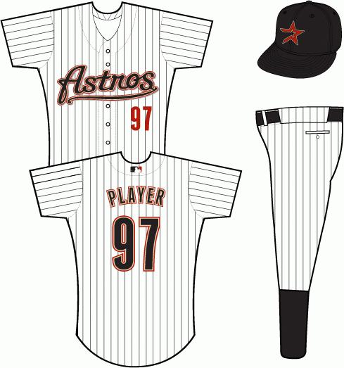 best website b1d21 6d77a Houston Astros Home Uniform - National League (NL) - Chris ...
