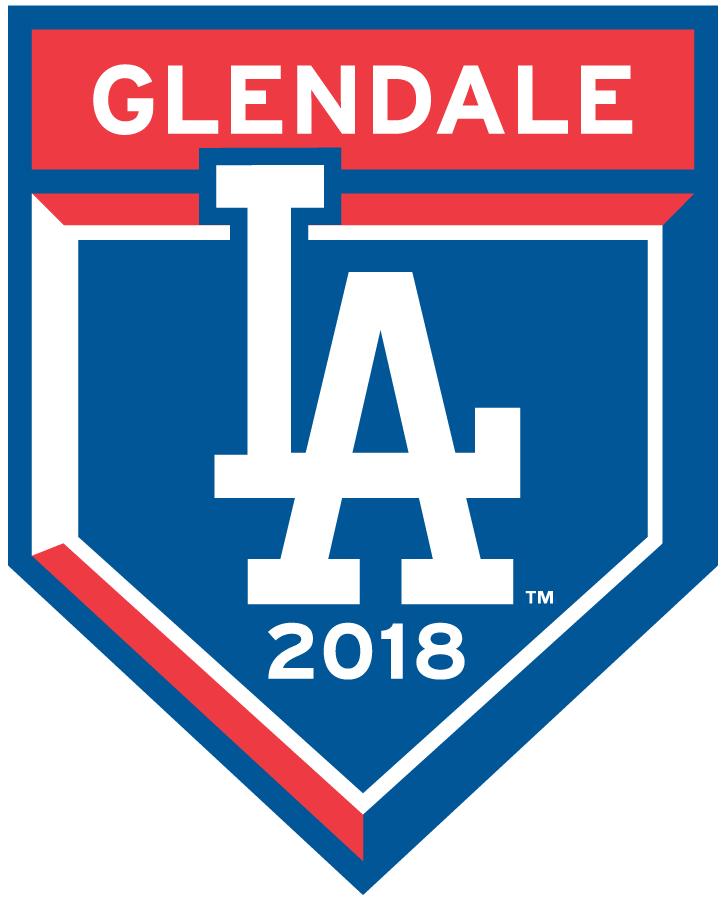 Los Angeles Dodgers Logo Event Logo (2018) - Los Angeles Dodgers 2018 Spring Training Logo SportsLogos.Net