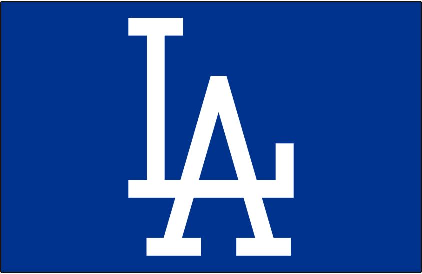 Los Angeles Dodgers Logo Cap Logo (1958-1971) -  SportsLogos.Net