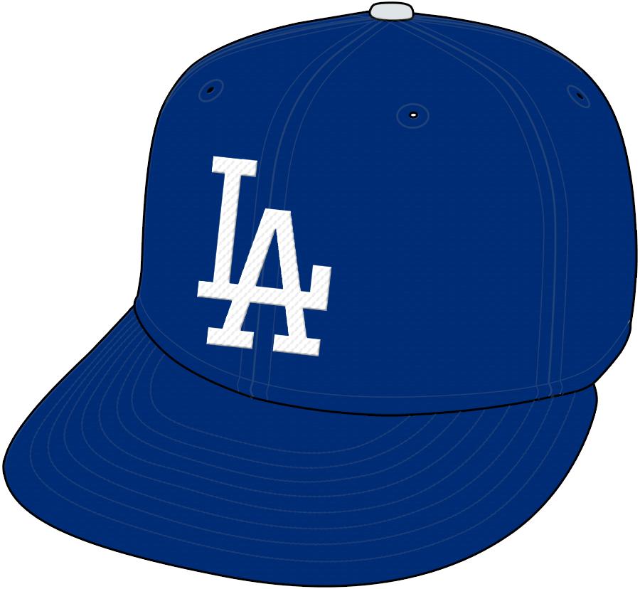 Los Angeles Dodgers Cap Cap (1972-2011) -  SportsLogos.Net