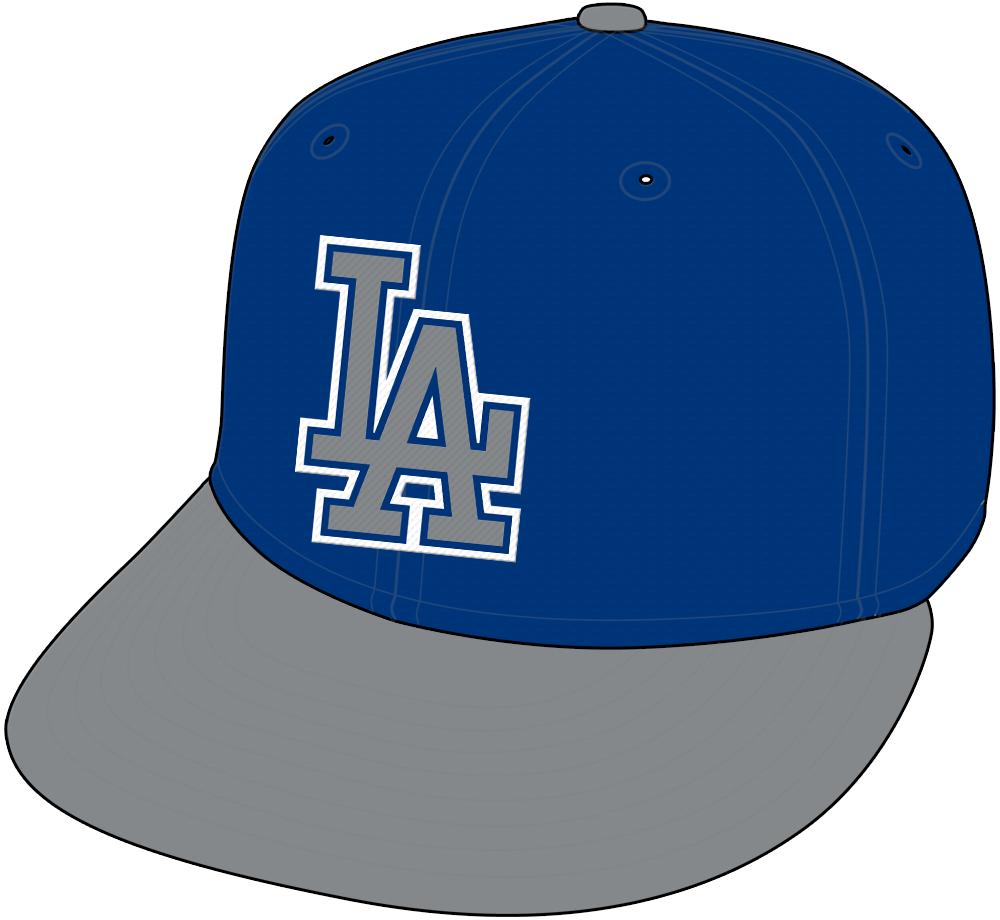 Los Angeles Dodgers Cap Cap (1999) - Alternate Cap SportsLogos.Net