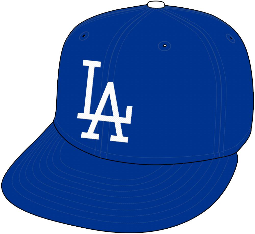 Los Angeles Dodgers Cap Cap (1958-1971) - Home and Road Cap SportsLogos.Net