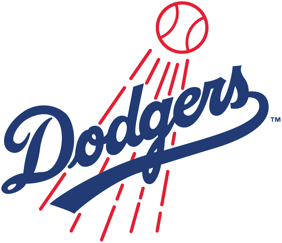 los angeles dodgers primary logo national league nl