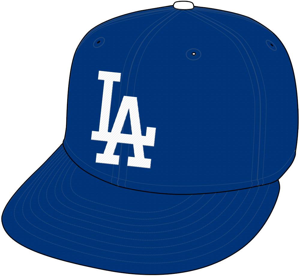 Los Angeles Dodgers Cap Cap (2012-Pres) - Home and Road Cap SportsLogos.Net