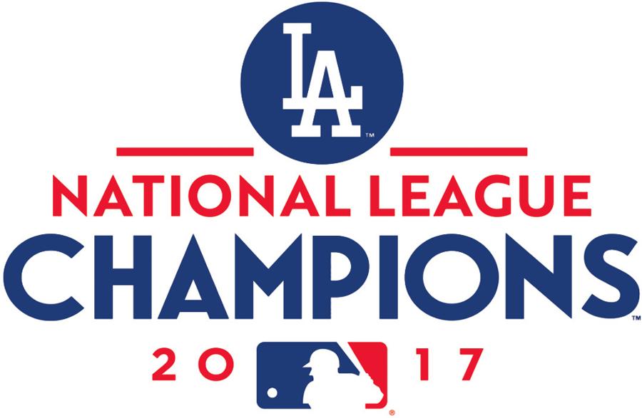 Los Angeles Dodgers Logo Champion Logo (2017) - Los Angeles Dodgers 2017 National League Champions logo SportsLogos.Net