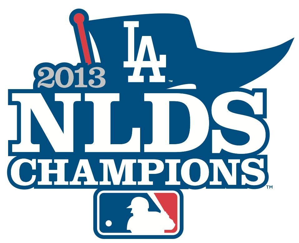 Los Angeles Dodgers Logo Champion Logo (2013) - Los Angeles Dodgers 2013 NLDS Champions logo SportsLogos.Net