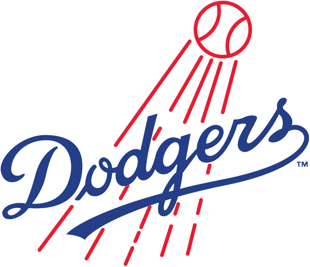 Los Angeles Dodgers Logo Primary Logo (1958-1967) -  SportsLogos.Net