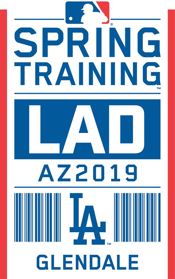 Los Angeles Dodgers Logo Event Logo (2019) - Los Angeles Dodgers 2019 Spring Training Logo SportsLogos.Net