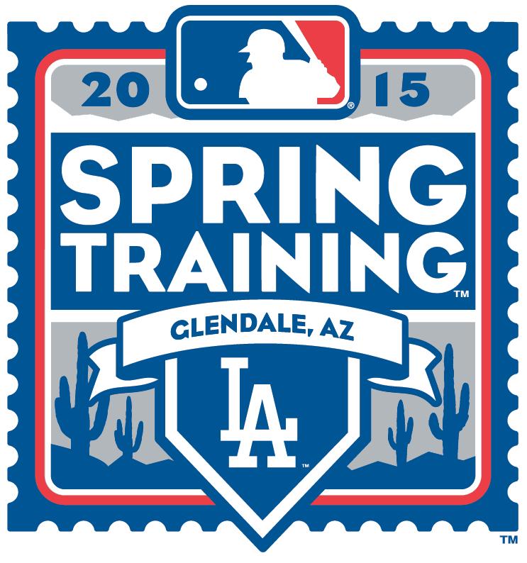 Los Angeles Dodgers Logo Event Logo (2015) - 2015 Los Angeles Dodgers Spring Training Logo SportsLogos.Net