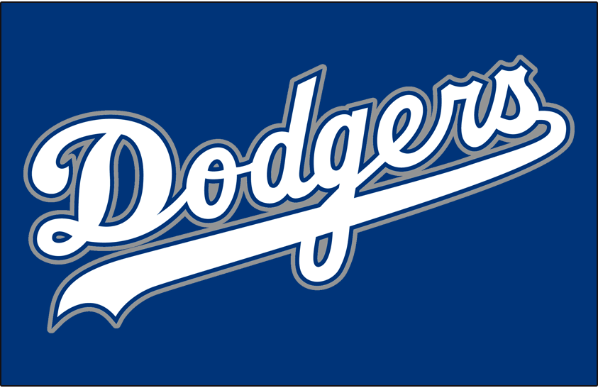 Los Angeles Dodgers Jersey Logo National League Nl Chris