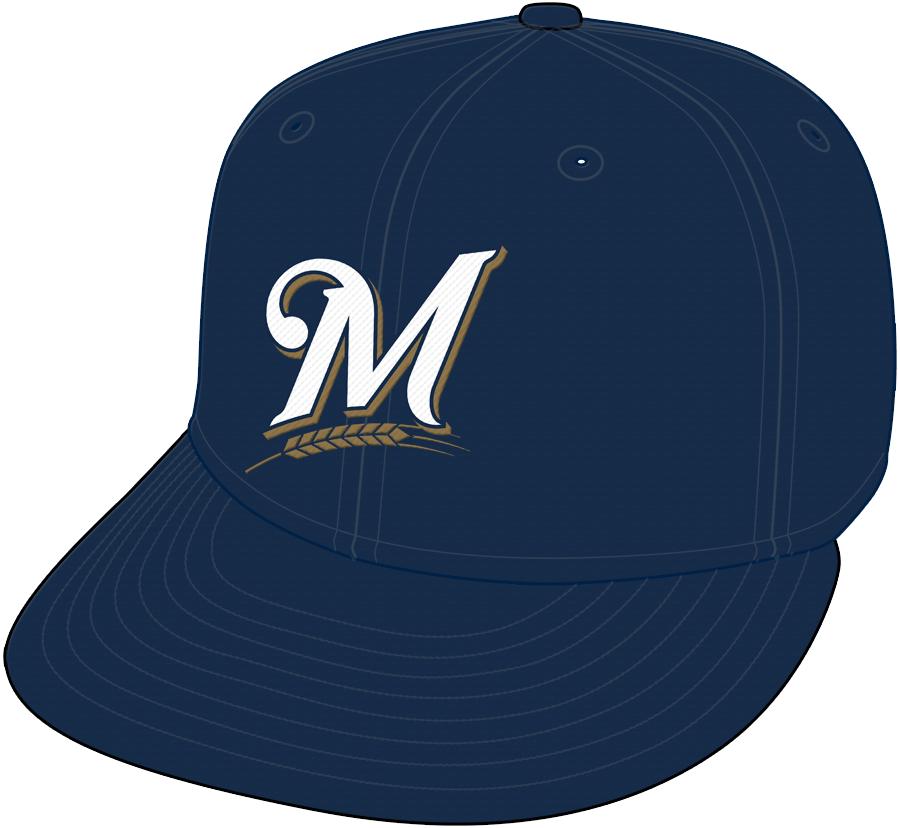 Milwaukee Brewers Cap Cap (2000-2019) -  SportsLogos.Net
