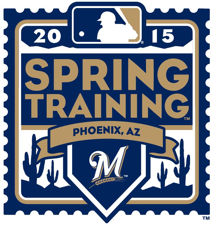 Milwaukee Brewers Logo Event Logo (2015) - 2015 Milwaukee Brewers Spring Training Logo SportsLogos.Net
