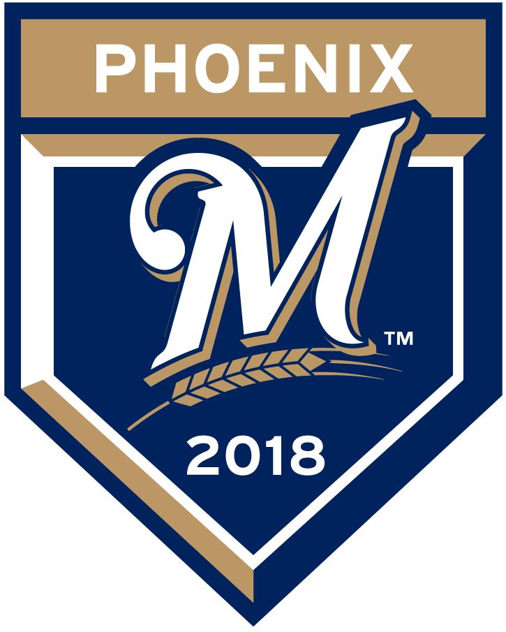 Milwaukee Brewers Logo Event Logo (2018) - Milwaukee Brewers 2018 Spring Training Logo SportsLogos.Net