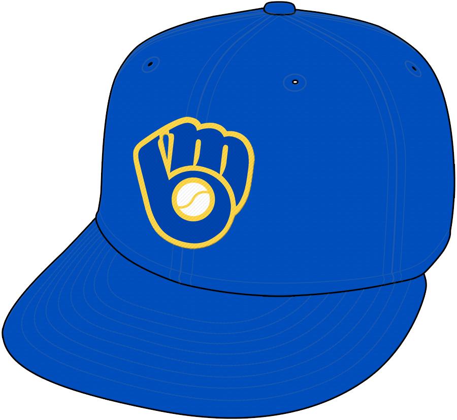 Milwaukee Brewers Cap Cap (2006-2019) - Alternate Cap SportsLogos.Net