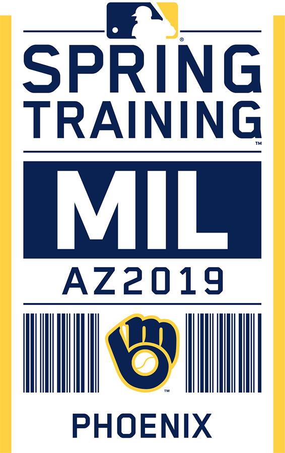 Milwaukee Brewers Logo Event Logo (2019) - Milwaukee Brewers 2019 Spring Training Logo SportsLogos.Net