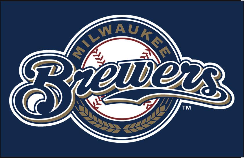 Milwaukee Brewers Logo Primary Dark Logo (2000-2017) - Brewers primary on dark SportsLogos.Net
