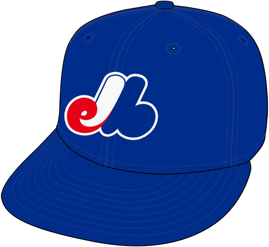 Montreal Expos Cap Cap (1992-2004) -  SportsLogos.Net