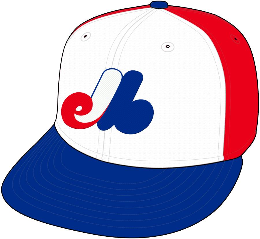 Montreal Expos Cap Cap (1969-1991) -  SportsLogos.Net