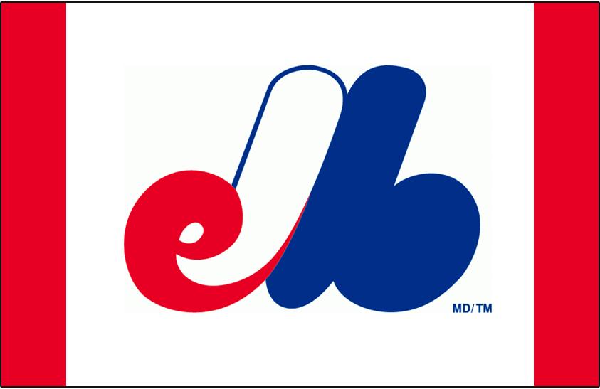 Montreal Expos Logo Cap Logo (1969-1991) - eMb on white SportsLogos.Net