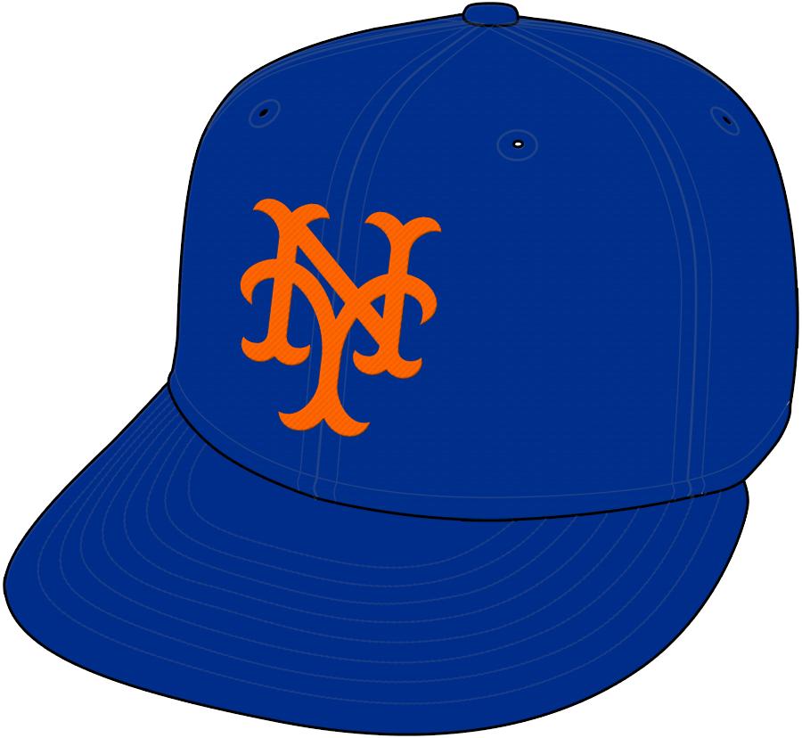 New York Mets Cap Cap (1969-1992) -  SportsLogos.Net
