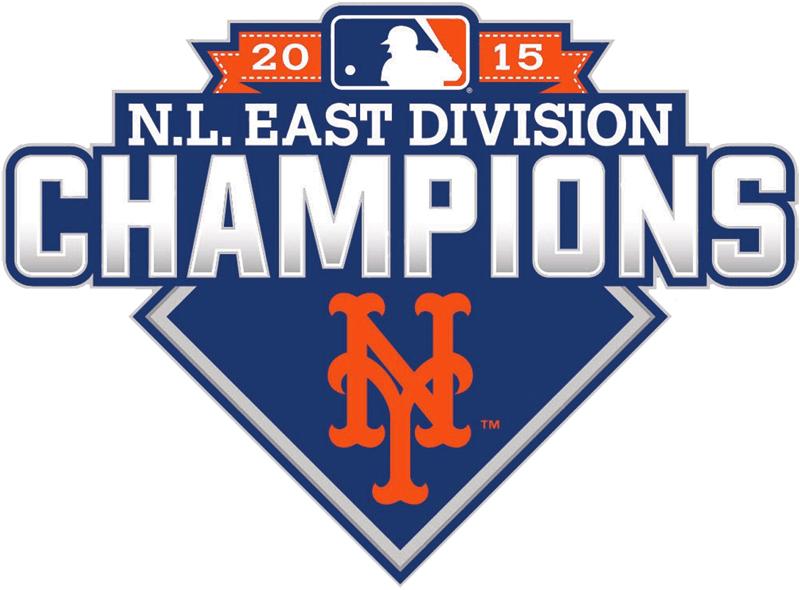 New York Mets Logo Champion Logo (2015) - New York Mets 2015 NL East Division Champions logo SportsLogos.Net