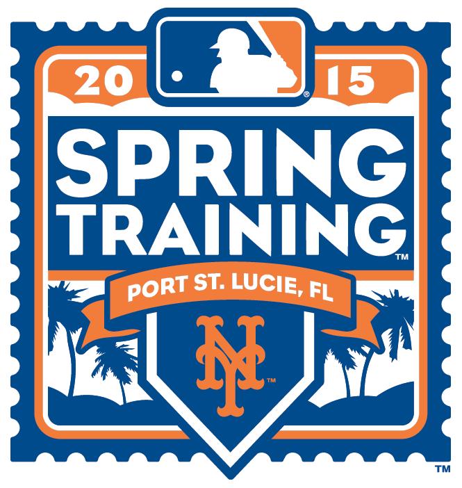 New York Mets Logo Event Logo (2015) - 2015 New York Mets Spring Training Logo SportsLogos.Net