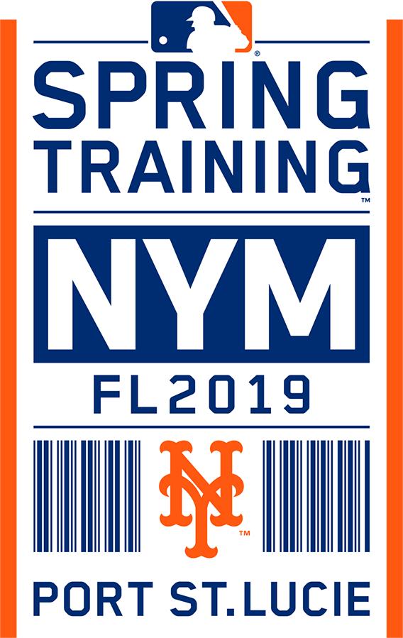 New York Mets Logo Event Logo (2019) - New York Mets 2019 Spring Training Logo SportsLogos.Net