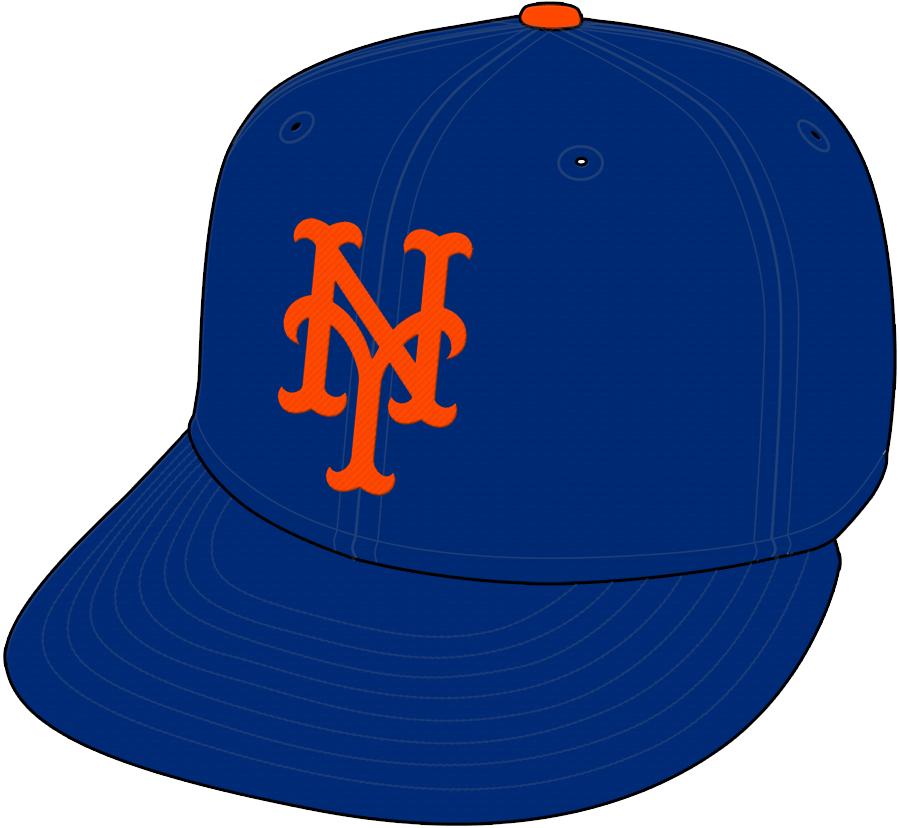 New York Mets Cap Cap (1993-Pres) -  SportsLogos.Net