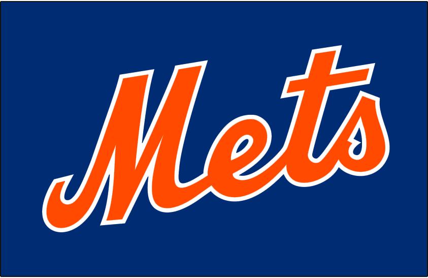 New York Mets Jersey Logo National League Nl Chris
