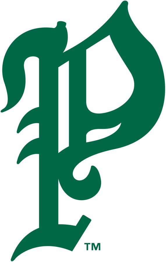 Philadelphia Phillies Logo Primary Logo (1910) - Green P SportsLogos.Net