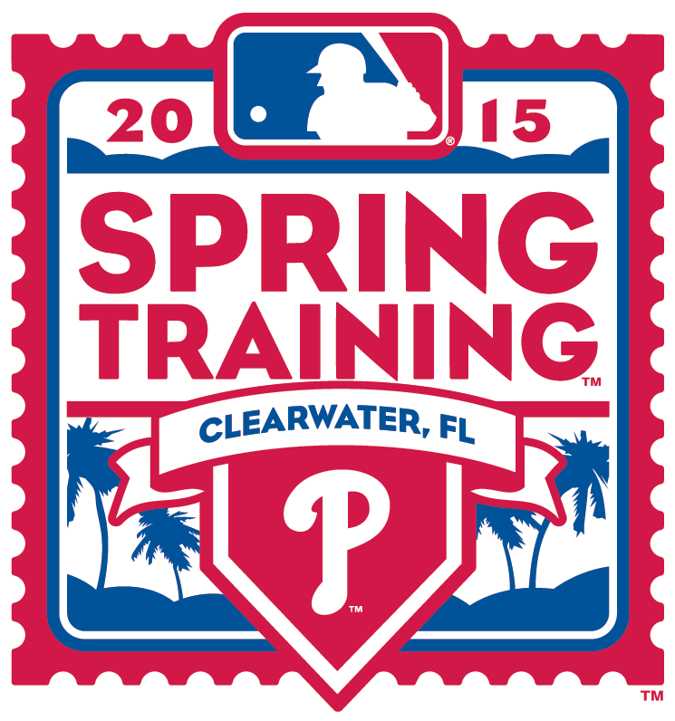 Philadelphia Phillies Logo Event Logo (2015) - 2015 Philadelphia Phillies Spring Training Logo SportsLogos.Net