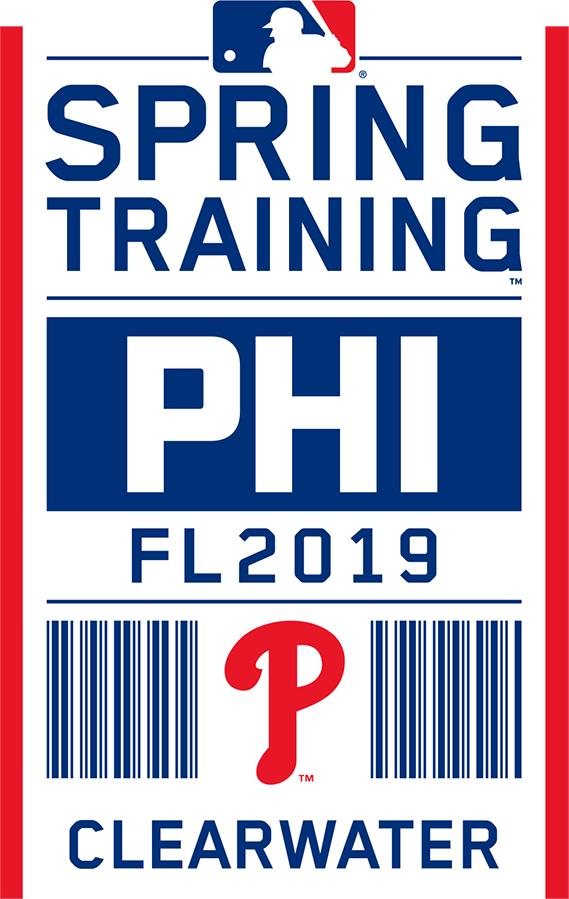 Philadelphia Phillies Logo Event Logo (2019) - Philadelphia Phillies 2019 Spring Training Logo SportsLogos.Net