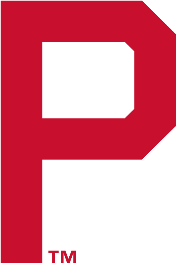 Philadelphia Phillies Logo Primary Logo (1911-1914) - Red P SportsLogos.Net