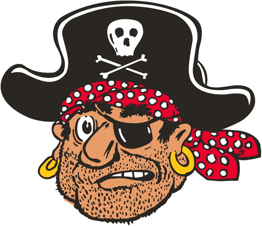 Pittsburgh Pirates Logo Alternate Logo (1958-1966) - A Pirate head SportsLogos.Net