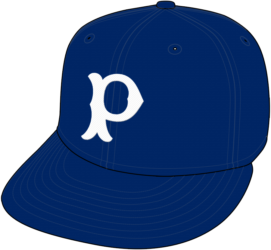Pittsburgh Pirates Cap Cap (1901-1909) - Home Only 1907, Road Only 1908 SportsLogos.Net