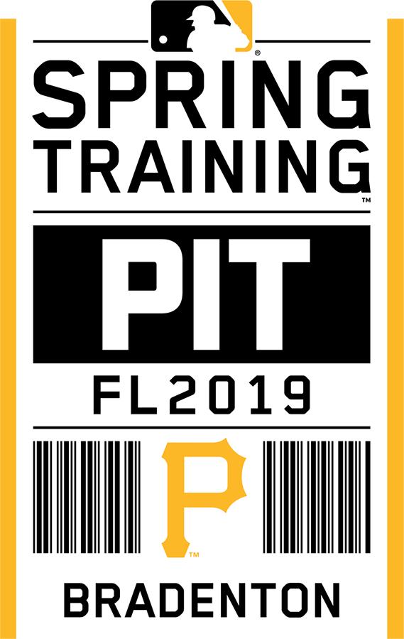 Pittsburgh Pirates Logo Event Logo (2019) - Pittsburgh Pirates 2019 Spring Training Logo SportsLogos.Net