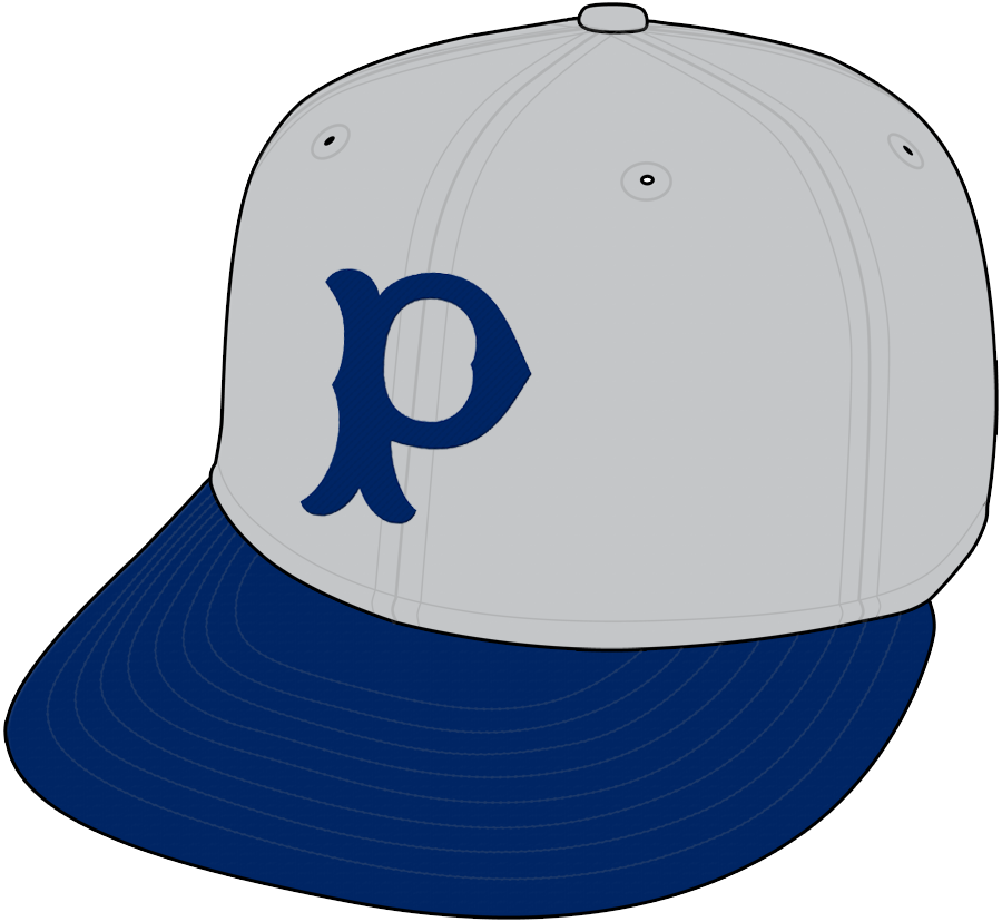 Pittsburgh Pirates Cap Cap (1900) - Road Only SportsLogos.Net