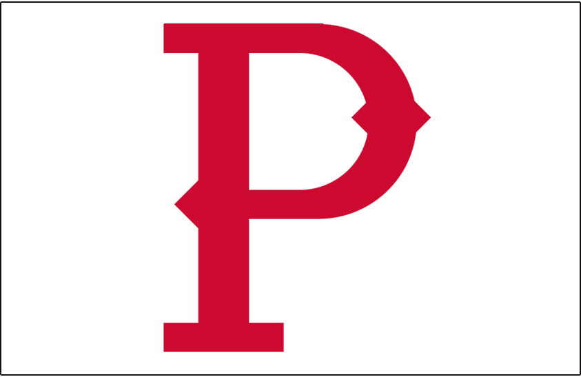 Pittsburgh Pirates Logo Jersey Logo (1907) - A red 'P' on white, worn on the front pocket of the Pittsburgh Pirates home jersey in 1907 SportsLogos.Net