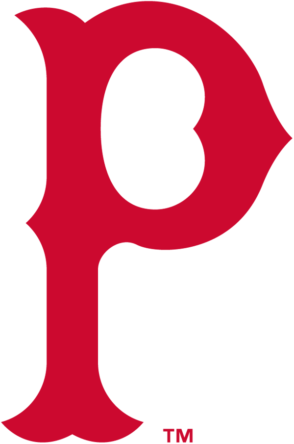 Pittsburgh Pirates Logo Primary Logo (1915-1919) - A red 'P' SportsLogos.Net