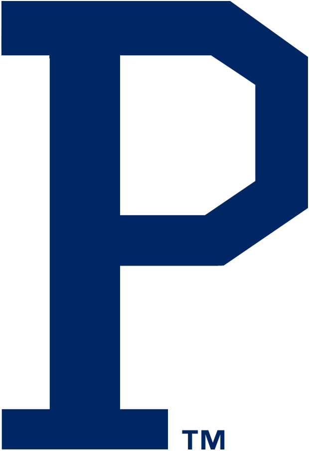 Pittsburgh Pirates Logo Primary Logo (1920-1921) - A blue 'P' SportsLogos.Net