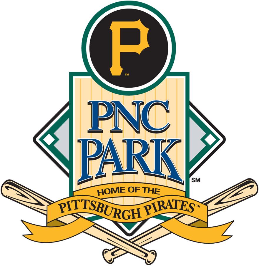 Pittsburgh Pirates Logo Stadium Logo (2010-Pres) - PNC Park logo with Pirates branding SportsLogos.Net