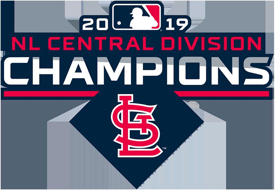 St. Louis Cardinals Logo Champion Logo (2019) - St Louis Cardinals 2019 NL Central Division Champions Logo SportsLogos.Net