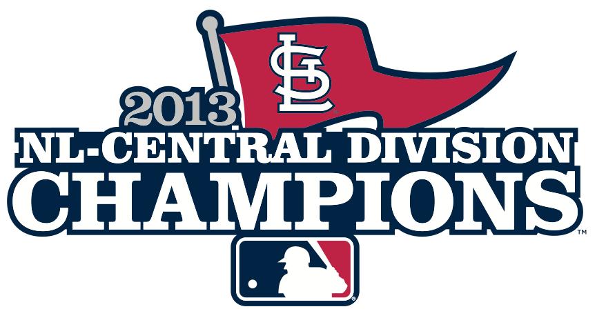 St. Louis Cardinals Logo Champion Logo (2013) - St Louis Cardinals 2013 NL Central Division Champions Logo SportsLogos.Net