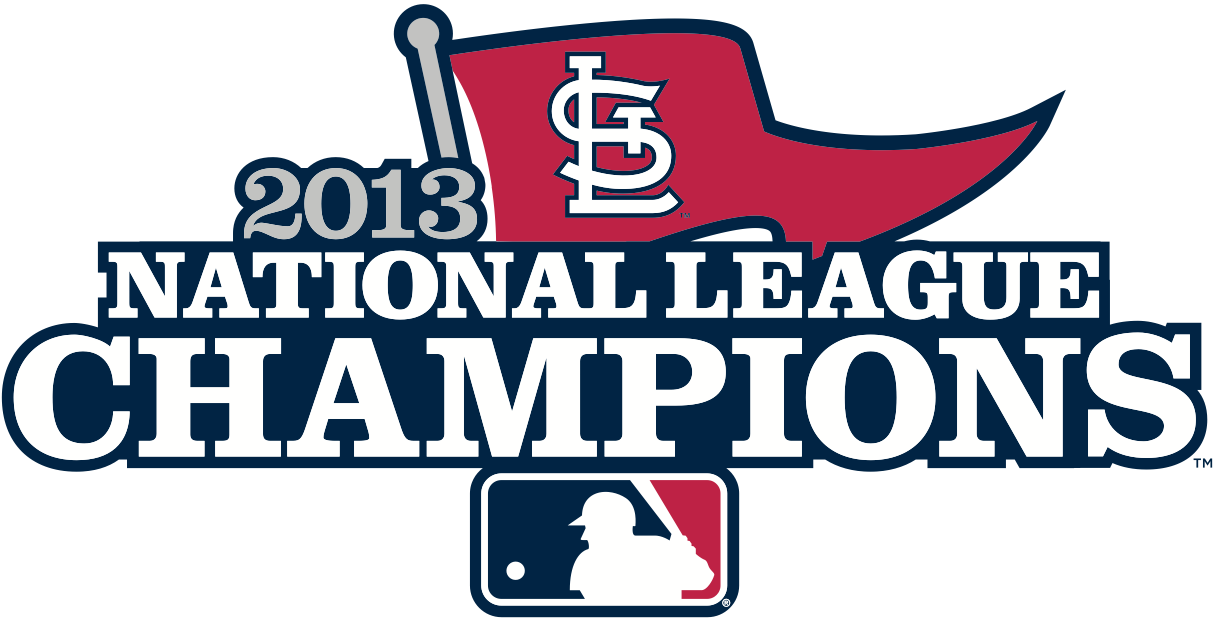 St. Louis Cardinals Logo Champion Logo (2013) - St Louis Cardinals 2013 National League Champions Logo SportsLogos.Net