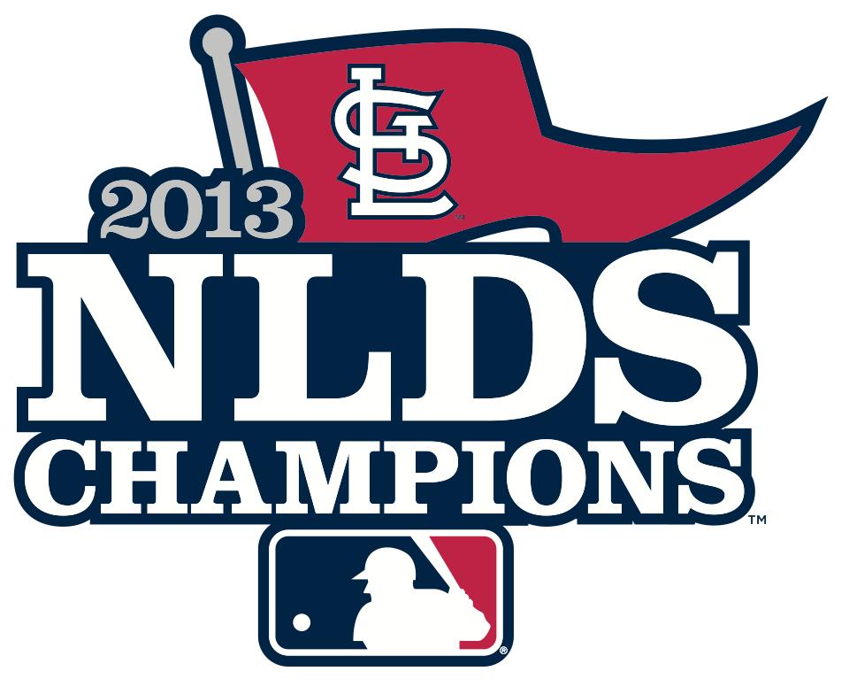 St. Louis Cardinals Logo Champion Logo (2013) - St Louis Cardinals 2013 NLDS Champions Logo SportsLogos.Net