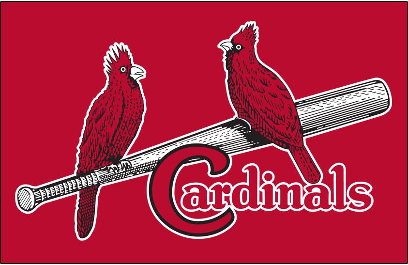 St. Louis Cardinals Logo Primary Dark Logo (1927-1947) -  SportsLogos.Net